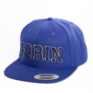 Snap Back Blue