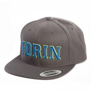 Snap Back Grey