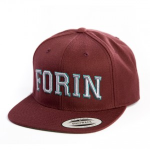 Snap Back Maroon